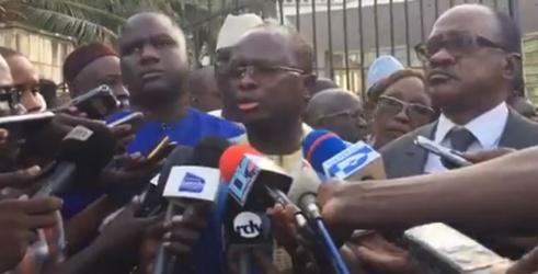 Assemblée nationale : les députés de l'opposition solidaires à GADIO et Khalifa SALL
