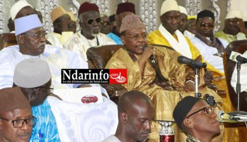 GRAND GAMOU DE NDAR : Serigne Mbaye SY Mansour à Saint-Louis, ce 30 décembre