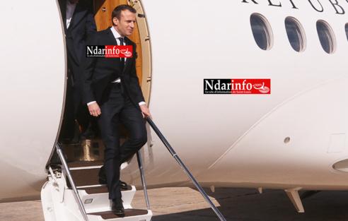 Direct – Arrivée du Président Emmanuel MACRON à Saint-Louis ( Photos)