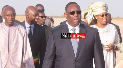 URGENT - Macky SALL se rendra à Nouakchott, jeudi