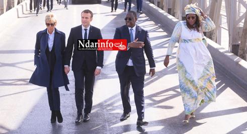 """Macky Sall à Macron : """" Vous avez apporté une réponse concrète à l'avancée de la mer à Saint-Louis"""""""