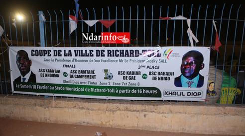 COUPE DE LA VILLE DE RICHARD-TOLL : Khalil DIOP plébiscité par la jeunesse ( Vidéo & Photos )