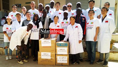 Consultation gratuite à Savoigne : 230 patients traités, 500 moustiquaires distribués, du matériel médical et des médicaments offerts au poste.