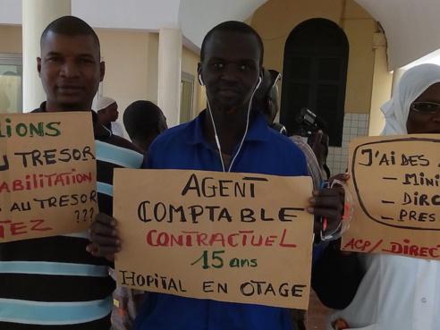 Hôpital de Saint-Louis : «  des travailleurs fatigués », « des malades désemparés », «  la réhabilitation bloquée », selon les syndicalistes.