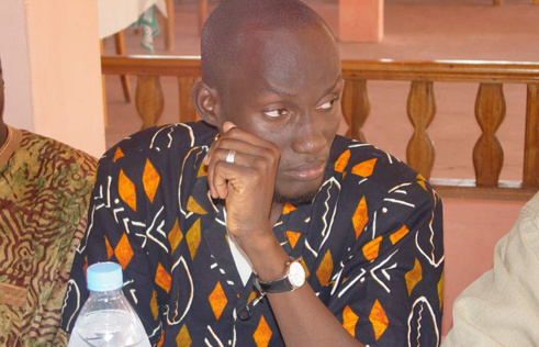 Le docteur Aly Sambou, coordonnateur du MATIC