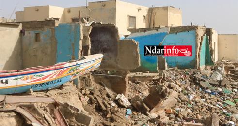 Drame à Guet-Ndar : 6 blessés après l'effondrement d'une concession à DAKK