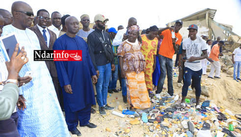 Idrissa SECK à l'école Abdoulaye Mbengue Khaly de Guet-Ndar