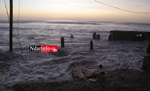 Météo : une houle dangereuse annoncée sur l'axe Dakar – Saint Louis, jeudi
