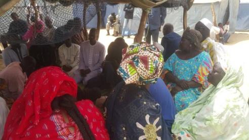 Saint-Louis : Ousmane SONKO « choqué » par les conditions « inhumaines » de sinistrés de KHAR YALLA