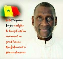 Hommage au Professeur Mayacine DIAGNE. Par Saliou Bobo Kane Diallo