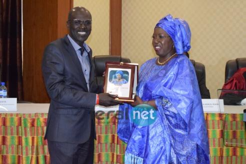 5e édition du Club Model : Khoudia Mbaye et son adjoint Khalidou BA primés ( Photos)