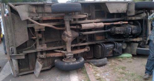 Saint-Louis - Collision entre un car et un bus sur la nationale 2 aux HLM : 24 blessés dont 8 graves