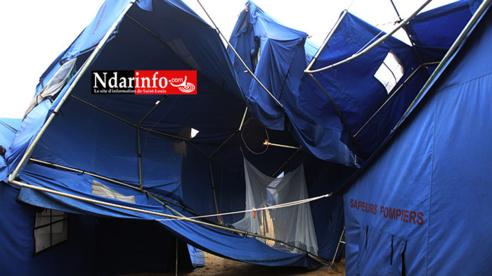 Tentes ravagées à Khar Yalla : les sinistrés bloquent la RN2