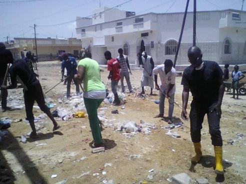 INONDATIONS : Cité Niakh dans la tourmente (photos)