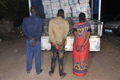 Mbour : 3,2 tonnes de drogue saisies, trois personnes dont une femme arrêtées