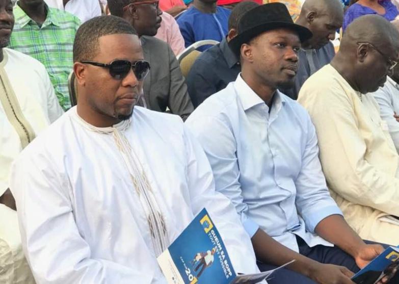 """Bougane Gueye Dany : """" en aucun moment, je n'ai critiqué le livre de SONKO"""" ... """" j'ai appelé mon frère SONKO pour me démarquer de ..."""""""