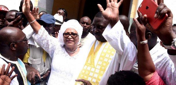 """Souam El Wardini, nouvelle maire de Dakar : """"L'œuvre de Khalifa Sall sera poursuivie"""""""