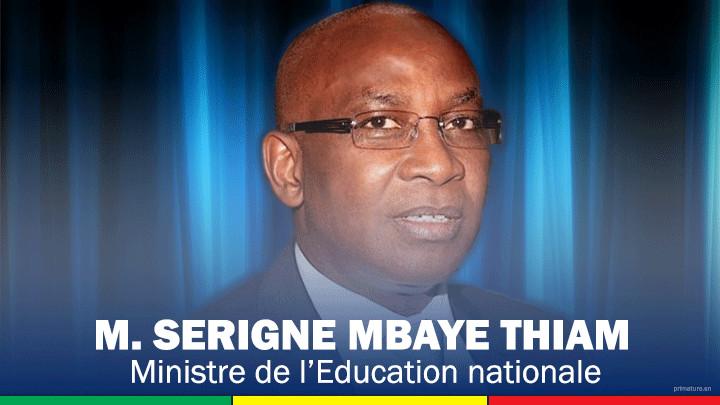 Harcèlements sexuels en milieu scolaire, Serigne Mbaye Thiam charge Human Rignts Watch
