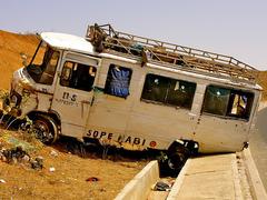 Tivaouane : deux morts et une trentaine de blessés après deux accidents de la circulation