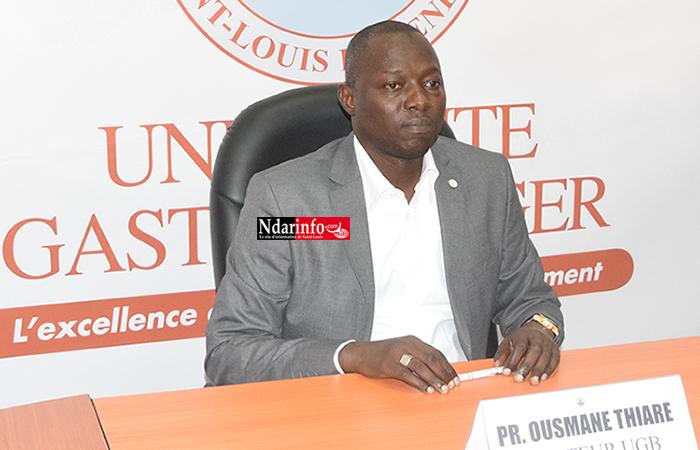Ousmane THIARÉ, recteur de l'Université Gaston Berger de Saint-Louis