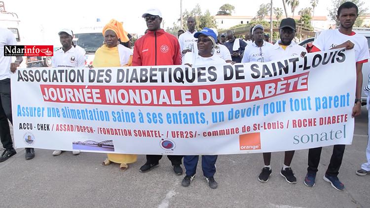Journée mondiale du diabète : une rando-fitness donne le coup d'envoi à Saint-Louis (vidéo)