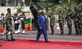 Violences verbales sur le net- Les engagements fermes de Macky Sall devant les forces armées Sénégalaises