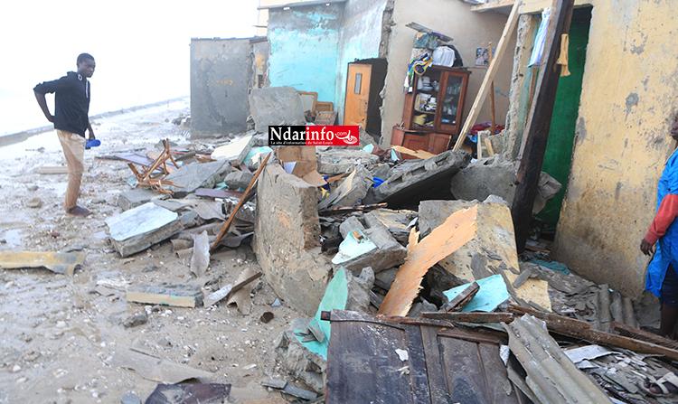 Affaissement d'une maison : plusieurs blessés enregistrés à NDAR TOUTE (vidéo)