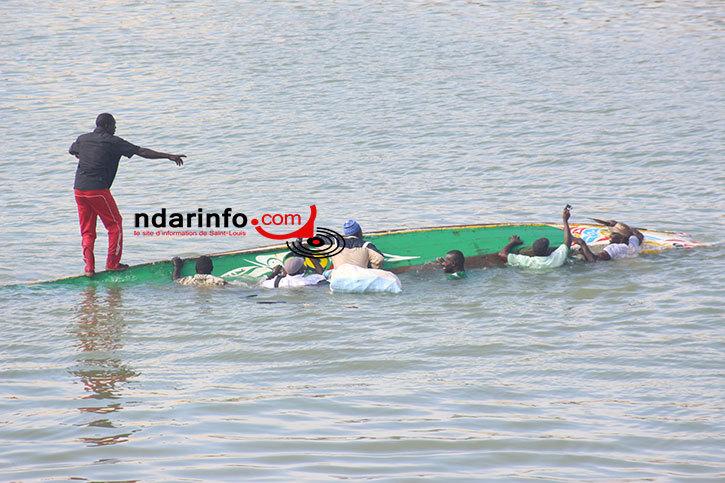 URGENT : Chavirement d'une pirogue sur la brèche