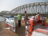 Pont Fadherbe : Pose sans probléme de la sixiéme travée