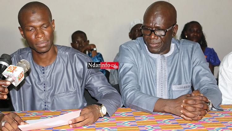 Défection dans les rangs du MODEL/ST-LOUIS : Djiby NDIAYE quitte le parti.