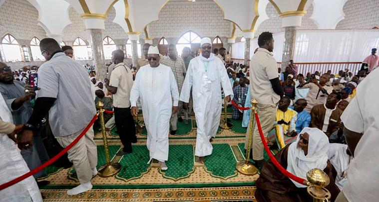 JAMRA dénonce la scandaleuse inauguration paganiste de la Grande Mosquée de Guédiawaye