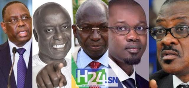 Urgent - Présidentielle 2019 : la liste définitive des 5 candidats