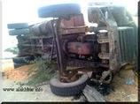 Terrible accident à l'entrée de Rosso Mauritanie: le chauffeur a rendu l'ame sur le coup