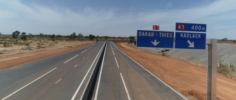 Macky Sall a inauguré le tronçon de l'autoroute Aéroport international Blaise Diagne (AIBD)-Mbour-Thiès