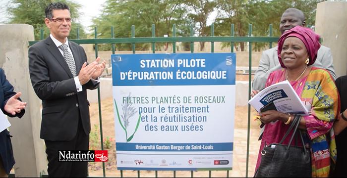 L'UGB inaugure une station d'épuration écologique des eaux usées (vidéo)