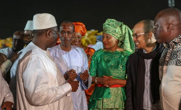 Aissata Tall SALL rejoint Macky Sall