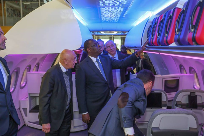 Aibd : Macky Sall réceptionne l'Airbus A330