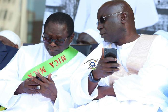 Présidentielle 2019: Idrissa Seck et Pape Diop à Touba