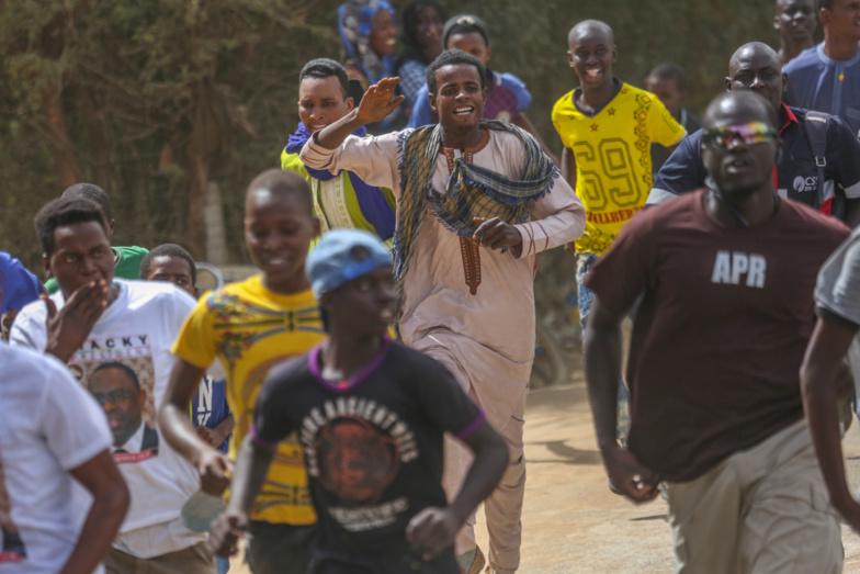PHOTOS - Meeting de Macky SALL à Richard-Toll : Le maire Amadou Mame DIOP en démonstration de force