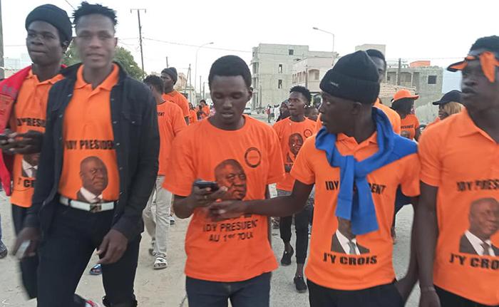 Saint-Louis : les jeunes de la coalition « IDY 2019 » déploient la grande offensive » Orange.