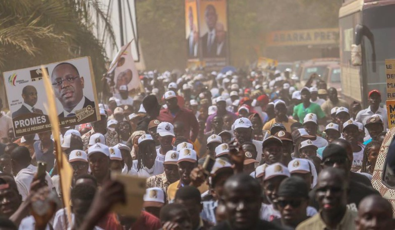 Ziguinchor : Démonstration de force de Macky Sall avec Youssou Ndour, Balla Gaye 2et Djoliba Kouyaté