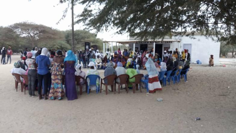 Réélection du président Macky SALL : A Ricote-Gandiol, l'ALIAS sensibilise les primo-votants et les femmes (vidéo)