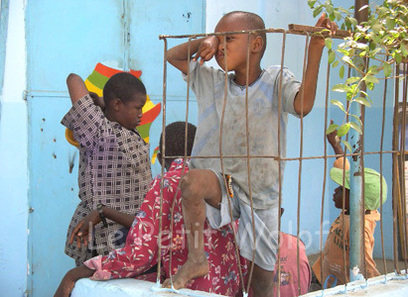 Caravane contre la maltraitance des enfants