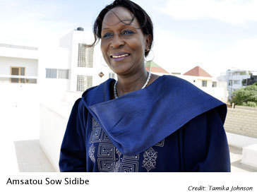 Saint-Louis: Amsatou Sow SIidibé de CAR LENEEN sur le ticket présidentiel: « Wade devait démissionner, puisqu'il a été désavoué par les populations »