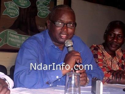 Abdou Latif Coulibaly à Saint Louis : « mon livre est une alerte face à la dégradation avancée de la République»