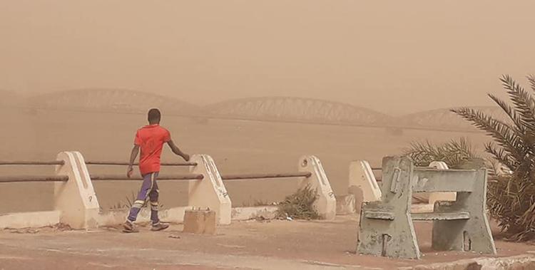 Saint-Louis : Temps poussiéreux, ce weekend