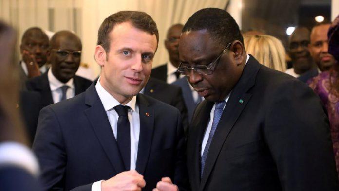"""Emmanuel Marcon félicite Macky Sall : """"La France se tiendra aux côtés du Sénégal ... """""""
