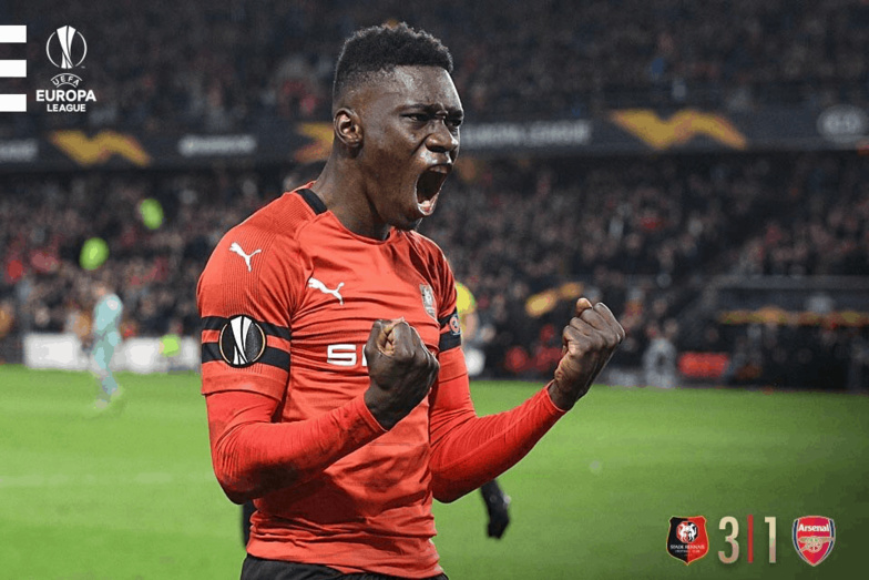 Ligue Europa : Ismaila SARR doublement décisif contre arsenal