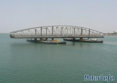 Réhabilitation du pont Faidherbe : La dernière travée sera remplacée ce samedi