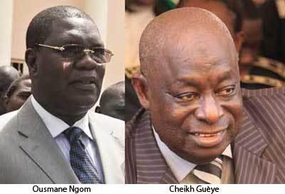 Passation de service entre Ousmane Ngom et Cheikh Guèye à 12h